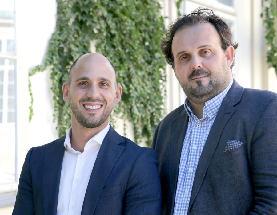 Dino Schosche, CEO ALPHA plus und Manuel Bräuhofer, CEO brainworker