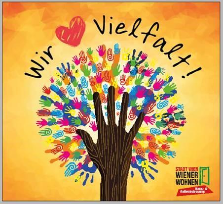 Interne Kampagne: Wir lieben Vielfalt