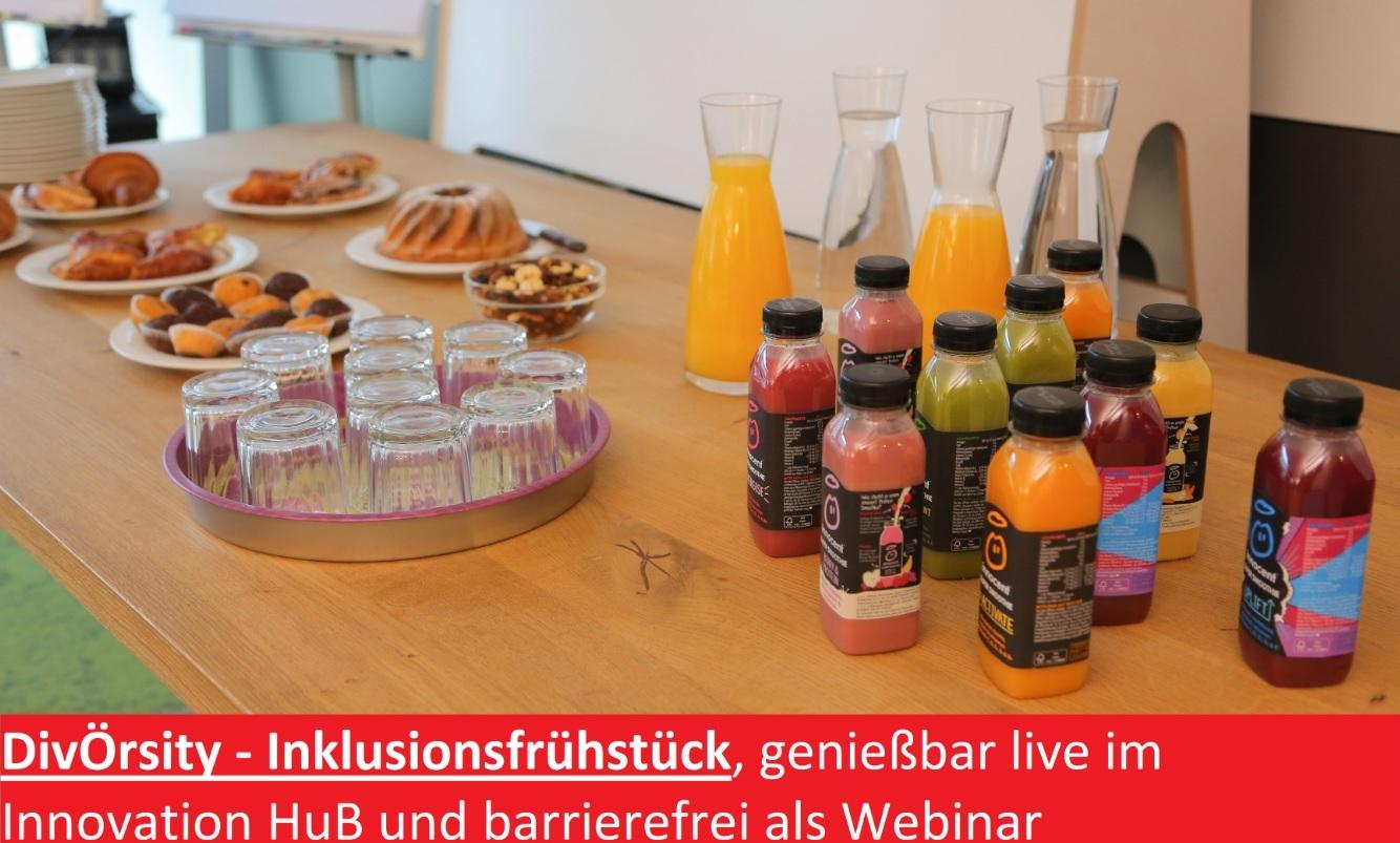 Diversity Frühstück im Innovations HUB