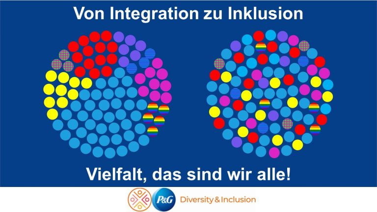 Von Integration zu Inklusion - Stärke durch Vielfalt bei P&G