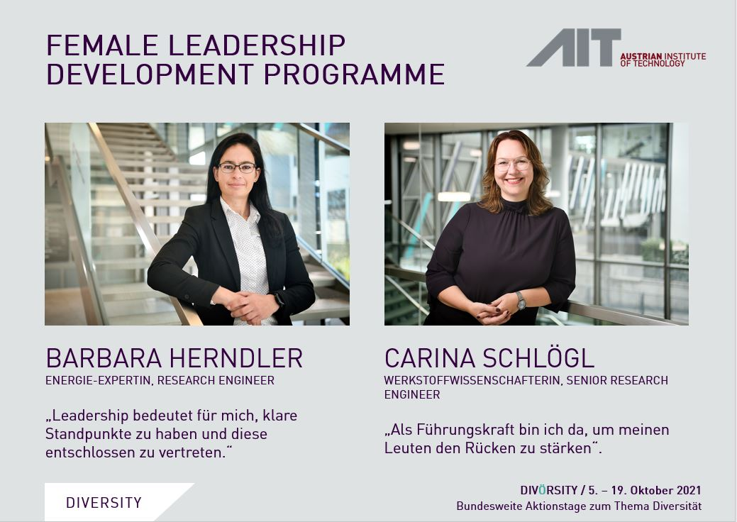Kampagne zum AIT Female Leadership Development Programme
